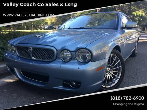 2008 Jaguar XJ-Series for sale at Valley Coach Co Sales & Lsng in Van Nuys CA