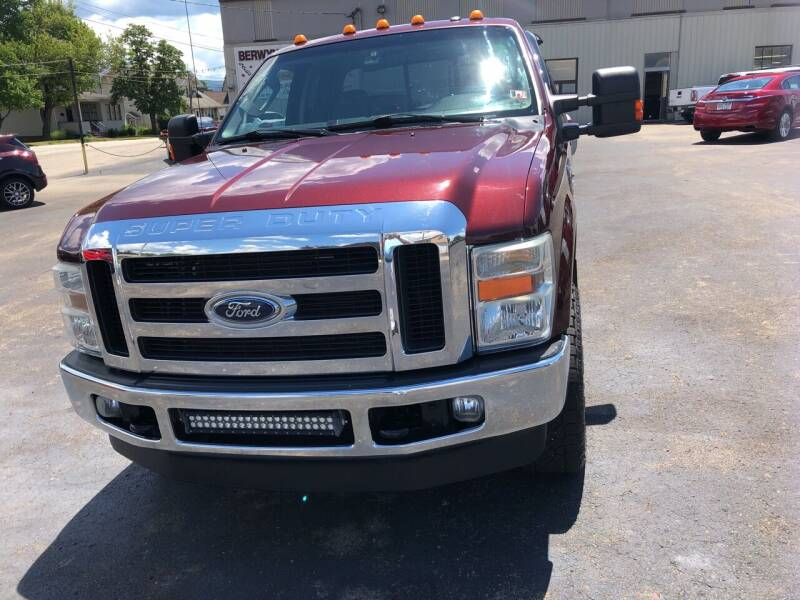 2010 Ford F-250 Super Duty for sale at Berwyn S Detweiler Sales & Service in Uniontown PA
