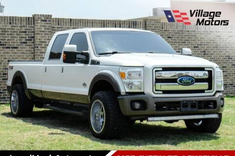 2015 Ford F-350 Super Duty for sale at Village Motors in Lewisville TX