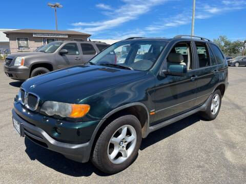 2001 BMW X5 for sale at Deruelle's Auto Sales in Shingle Springs CA