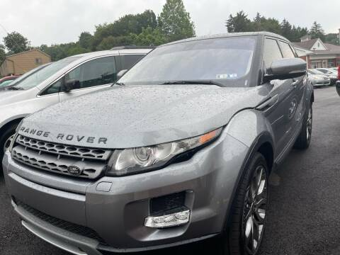 2013 Land Rover Range Rover Evoque for sale at Fellini Auto Sales & Service LLC in Pittsburgh PA