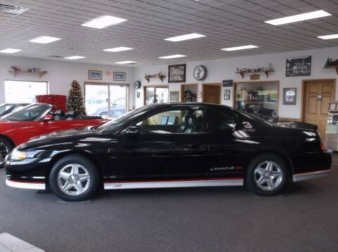 2002 Chevrolet Monte Carlo for sale at West Side Service in Auburndale WI