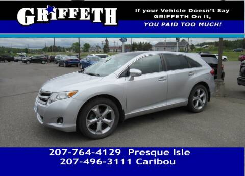 2013 Toyota Venza for sale at Griffeth Mitsubishi - Pre-owned in Caribou ME
