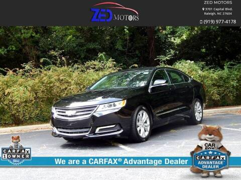 2020 Chevrolet Impala for sale at Zed Motors in Raleigh NC