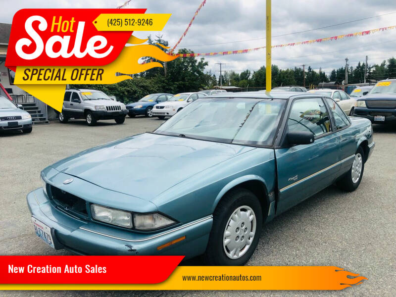 1995 Buick Regal for sale at New Creation Auto Sales in Everett WA