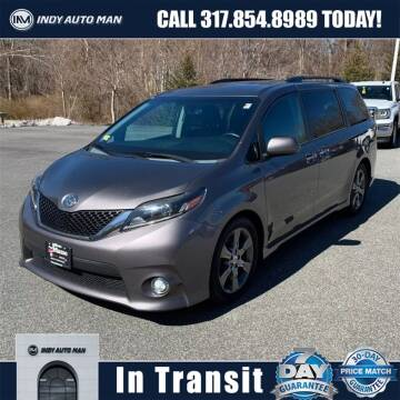 2015 Toyota Sienna for sale at INDY AUTO MAN in Indianapolis IN
