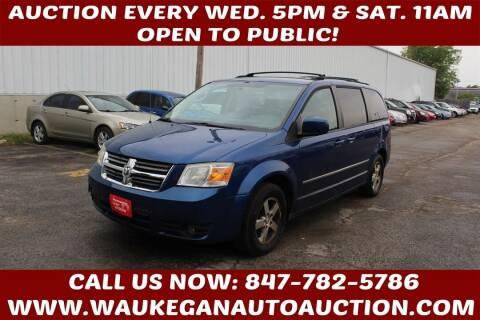 2010 Dodge Grand Caravan for sale at Waukegan Auto Auction in Waukegan IL