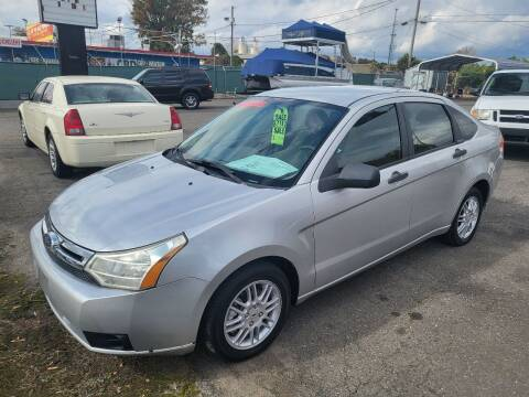 2010 Ford Focus for sale at LINDER'S AUTO SALES in Gastonia NC