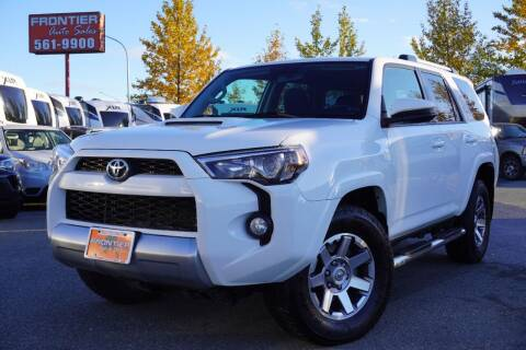 2016 Toyota 4Runner for sale at Frontier Auto & RV Sales in Anchorage AK