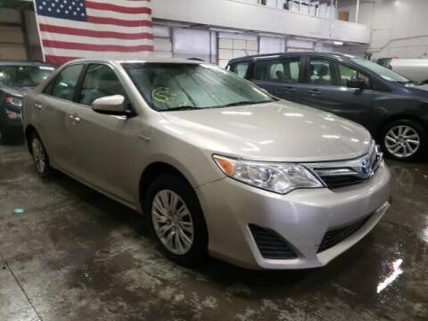 2013 Toyota Camry Hybrid for sale at STS Automotive in Denver CO