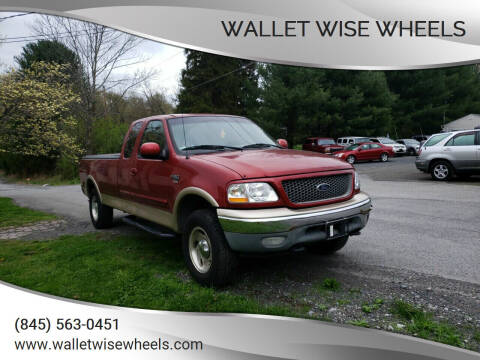 2000 Ford F-150 for sale at Wallet Wise Wheels in Montgomery NY