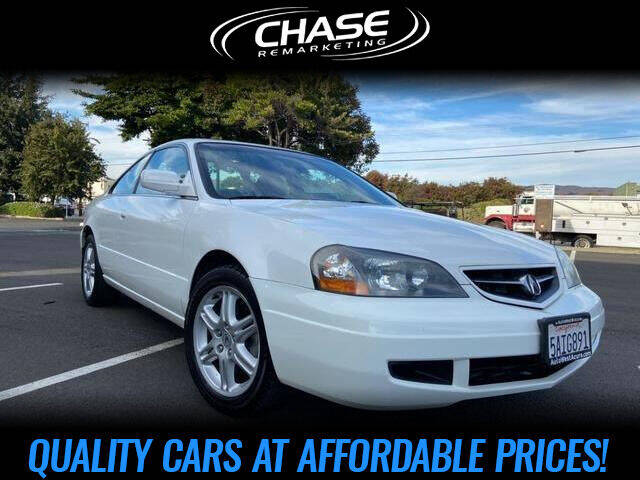 2003 Acura CL for sale at Chase Remarketing in Fremont CA