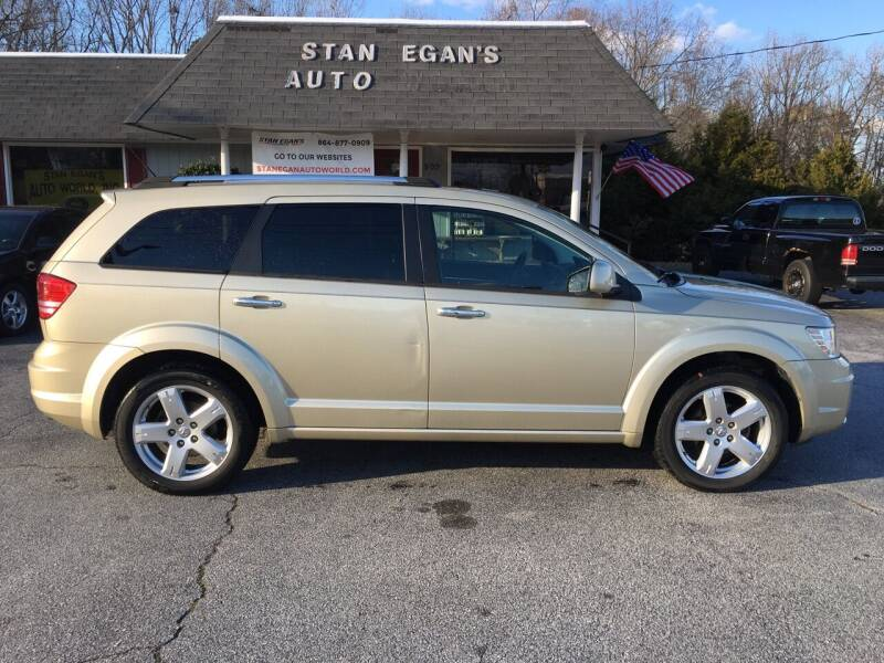 2010 Dodge Journey for sale at STAN EGAN'S AUTO WORLD, INC. in Greer SC