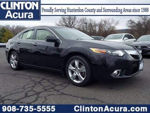 2013 Acura TSX for sale at Clinton Acura used in Clinton NJ