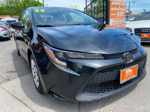 2020 Toyota Corolla for sale at TOP SHELF AUTOMOTIVE in Newark NJ