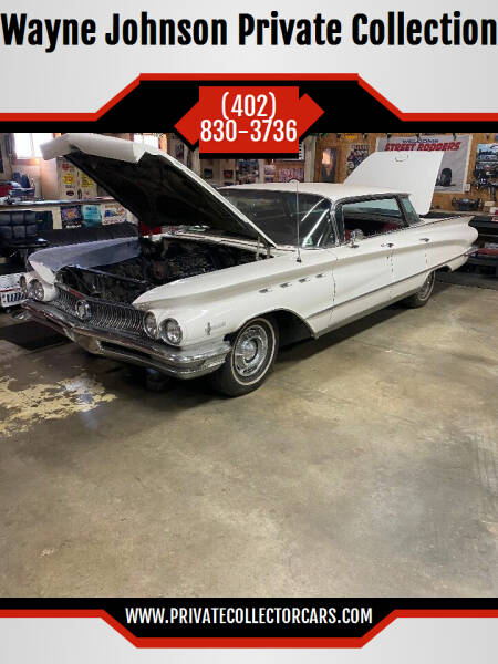 1960 Buick Electra for sale at Wayne Johnson Private Collection in Shenandoah IA