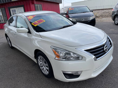 2015 Nissan Altima for sale at Top Line Auto Sales in Idaho Falls ID