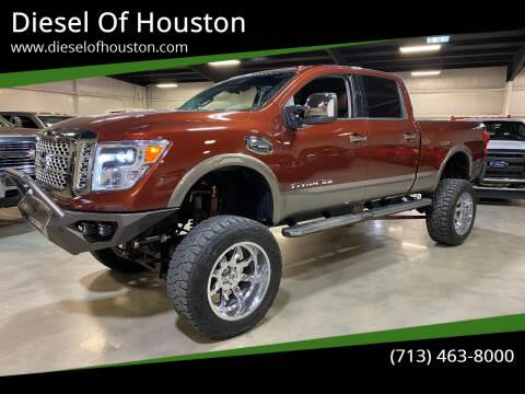 2019 Nissan Titan XD for sale at Diesel Of Houston in Houston TX