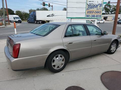 2003 Cadillac DeVille for sale at Steve's Auto Sales in Sarasota FL