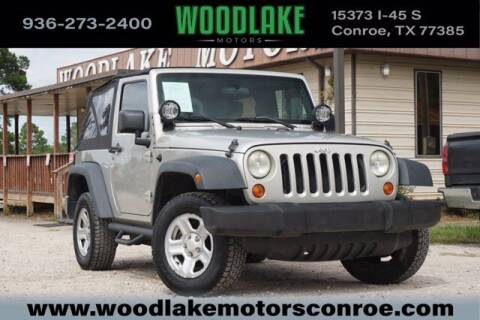 2007 Jeep Wrangler for sale at WOODLAKE MOTORS in Conroe TX