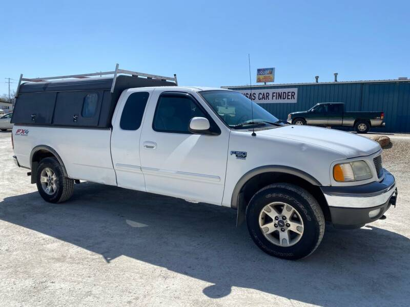 2003 Ford F-150 for sale at Kansas Car Finder in Valley Falls KS