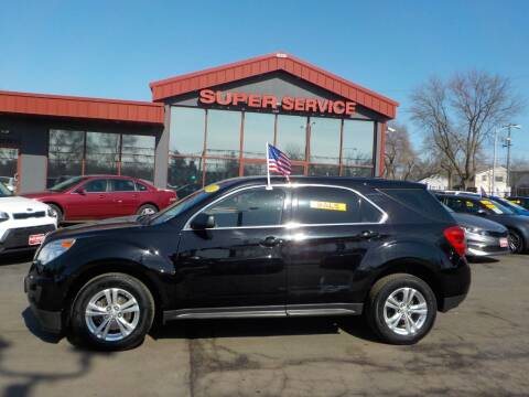 2012 Chevrolet Equinox for sale at Super Service Used Cars in Milwaukee WI