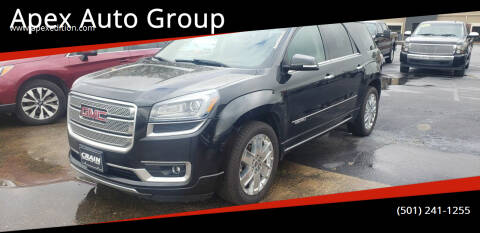 2015 GMC Acadia for sale at Apex Auto Group in Cabot AR