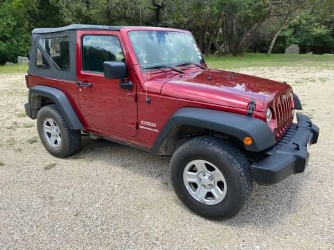 2012 Jeep Wrangler for sale at Village Motors Of Salado in Salado TX