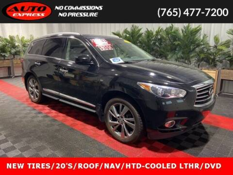 2014 Infiniti QX60 for sale at Auto Express in Lafayette IN