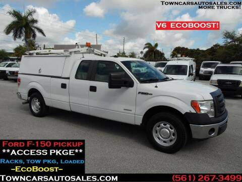2011 Ford F-150 for sale at Town Cars Auto Sales in West Palm Beach FL