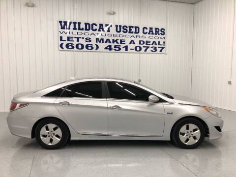 2012 Hyundai Sonata Hybrid for sale at Wildcat Used Cars in Somerset KY