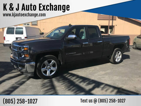 2015 Chevrolet Silverado 1500 for sale at K & J Auto Exchange in Santa Paula CA