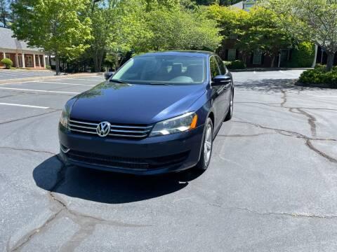 2013 Volkswagen Passat for sale at SMT Motors in Roswell GA
