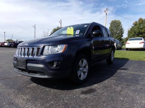 2012 Jeep Compass for sale at Pool Auto Sales Inc in Spencerport NY