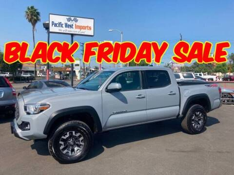2020 Toyota Tacoma for sale at Pacific West Imports in Los Angeles CA