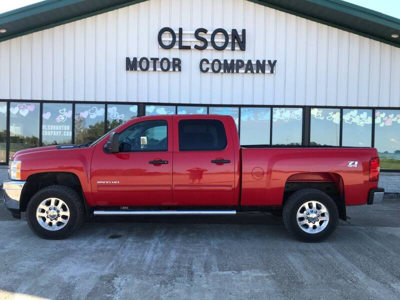 2014 Chevrolet Silverado 2500HD for sale at Olson Motor Company in Morris MN