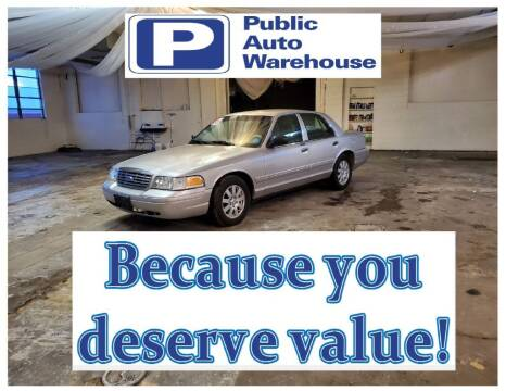 2006 Ford Crown Victoria for sale at Public Auto Warehouse in Pekin IL