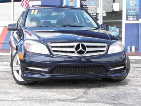 2011 Mercedes-Benz C-Class for sale at VIP AUTO ENTERPRISE INC. in Orlando FL