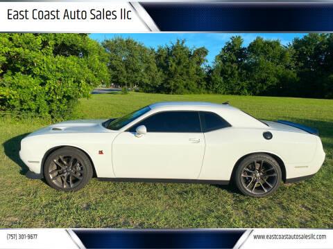2021 Dodge Challenger for sale at East Coast Auto Sales llc in Virginia Beach VA