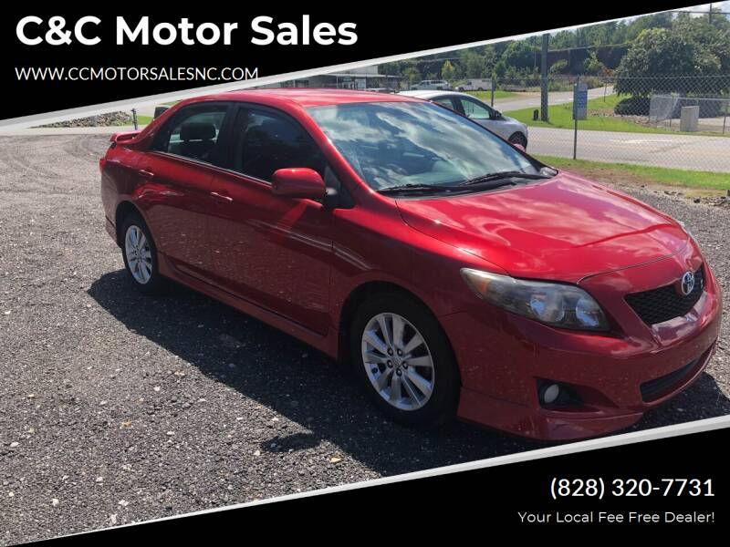 2010 Toyota Corolla for sale at C&C Motor Sales LLC in Hudson NC