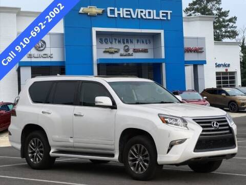 2016 Lexus GX 460 for sale at PHIL SMITH AUTOMOTIVE GROUP - SOUTHERN PINES GM in Southern Pines NC