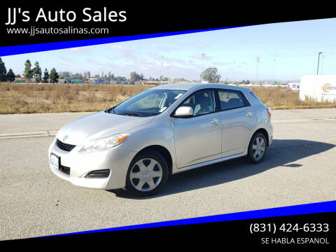 2009 Toyota Matrix for sale at JJ's Auto Sales in Salinas CA