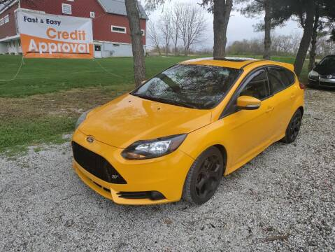 2013 Ford Focus for sale at Caulfields Family Auto Sales in Bath PA