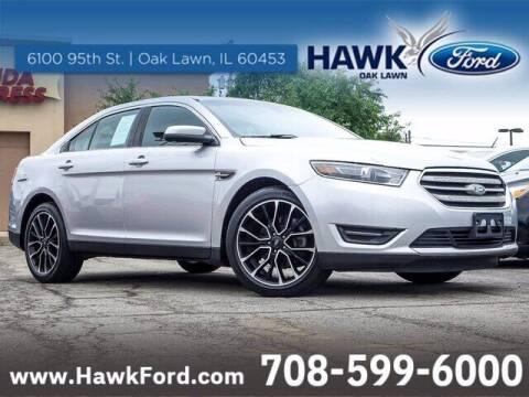 2018 Ford Taurus for sale at Hawk Ford of Oak Lawn in Oak Lawn IL