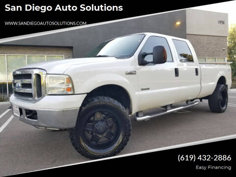 2007 Ford F-350 Super Duty for sale at San Diego Auto Solutions in Escondido CA