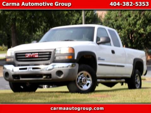2007 GMC Sierra 2500HD Classic for sale at Carma Auto Group in Duluth GA