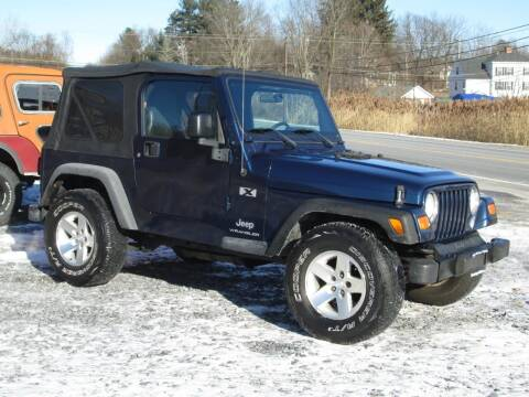 2004 Jeep Wrangler for sale at Saratoga Motors in Gansevoort NY