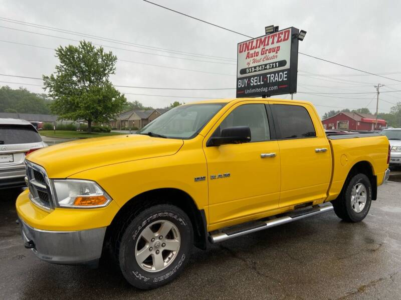 2009 Dodge Ram Pickup 1500 for sale at Unlimited Auto Group in West Chester OH