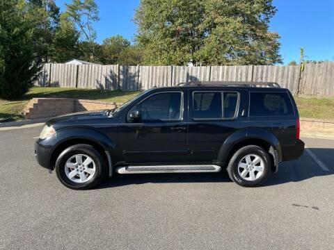 2008 Nissan Pathfinder for sale at Superior Wholesalers Inc. in Fredericksburg VA