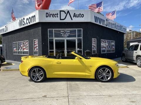 2017 Chevrolet Camaro for sale at Direct Auto in D'Iberville MS